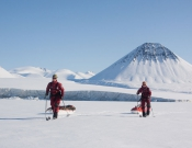 All you need is a sled and a pair of skis. Skiing 80 days on Baffin Island.
